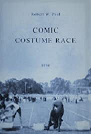 Comic Costume Race Poster