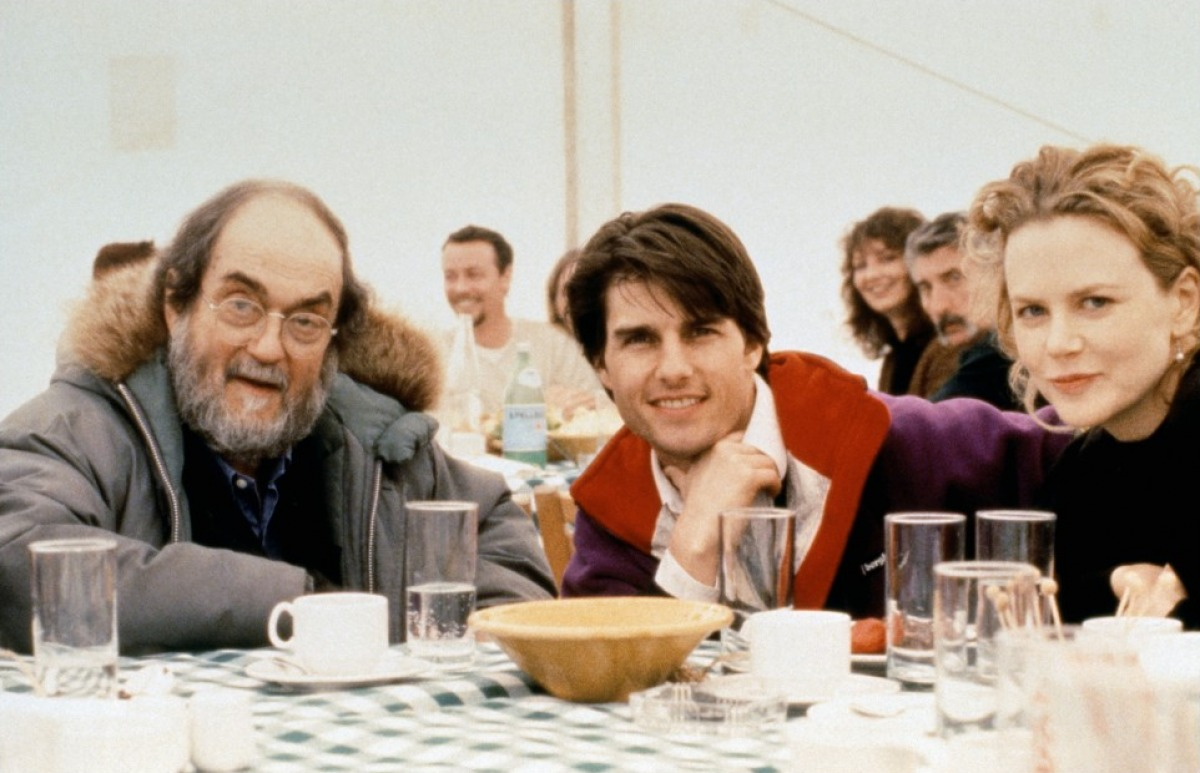 Stanley Kubrick, Tom Cruise, and Nicole Kidman in Eyes Wide Shut (1999)