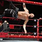 Andrew Hankinson, Chad Allegra, and Joe Hennig in WWE Elimination Chamber (2018)