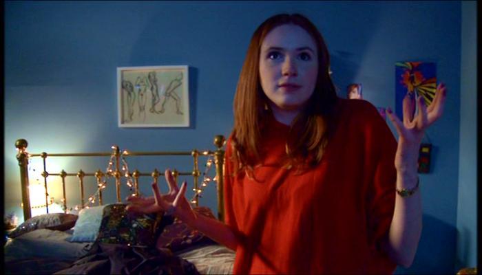 Karen Gillan in Doctor Who Confidential (2005)