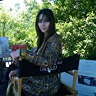 """Jillian Morgese on set of """"Zombies: A Living History"""""""