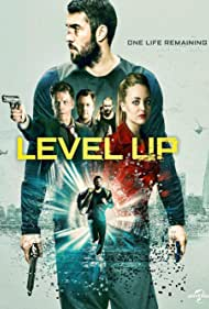 William Houston, Neil Maskell, Josh Bowman, Leila Mimmack, and Christina Wolfe in Level Up (2016)