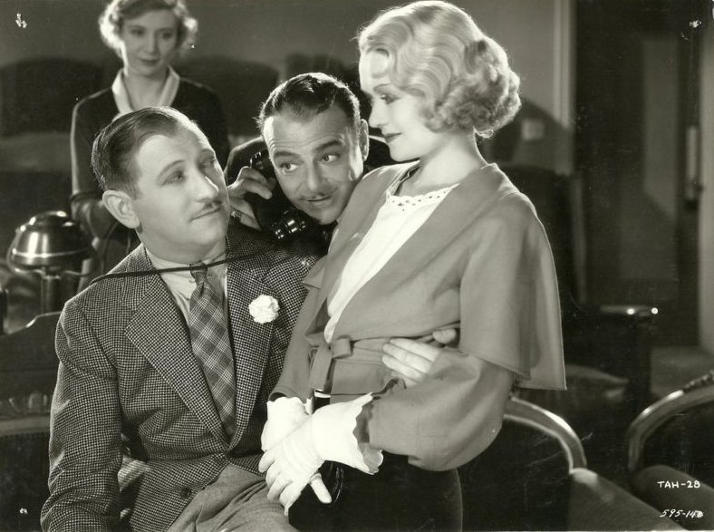 Constance Bennett, Gregory Ratoff, and Lowell Sherman in What Price Hollywood? (1932)
