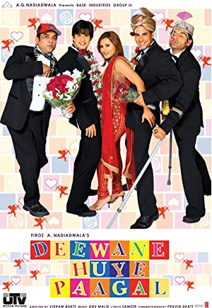 Download Deewane Huye Paagal (2005) Hindi Movie 720p | 480p WebRip 1.3GB | 400MB