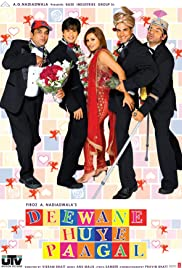 Deewane Huye Paagal (2005) Poster - Movie Forum, Cast, Reviews