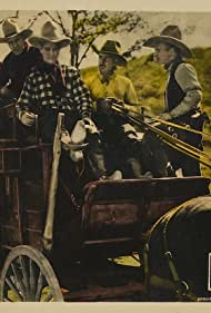 Art Acord, Olive Hasbrouck, Duke R. Lee, and Frank Rice in The Call of Courage (1925)