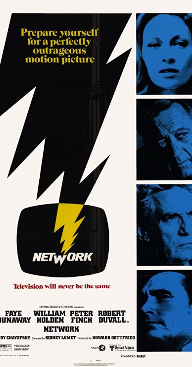 Play or Watch Movies for free Network (1976)