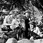 Robert Taylor, Thomas Mitchell, Lloyd Nolan, and Robert Walker in Bataan (1943)