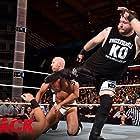 Mike 'The Miz' Mizanin, Kevin Steen, and Claudio Castagnoli in WWE Payback (2016)