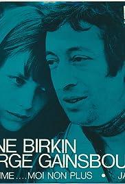 Serge Gainsbourg & Jane Birkin: Je t'aime... moi non plus (Version 1) Poster