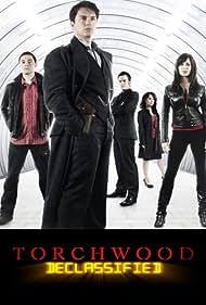 John Barrowman, Naoko Mori, Eve Myles, Burn Gorman, and Gareth David-Lloyd in Torchwood Declassified (2006)