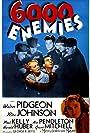 Raymond Hatton, Rita Johnson, Adrian Morris, Tom Neal, and Walter Pidgeon in 6,000 Enemies (1939)