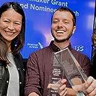 2016 Film Independent Spirit Awards Winners Elizabeth Chai Vasarhelyi, Felix Thompson and Mel Eslyn