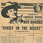 Roy Rogers and George 'Gabby' Hayes in Sunset on the Desert (1942)