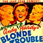 Mickey Rooney, Lee Wilde, and Lyn Wilde in Andy Hardy's Blonde Trouble (1944)