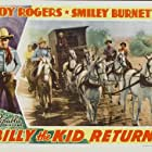 Roy Rogers and Smiley Burnette in Billy the Kid Returns (1938)