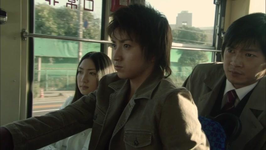 Tatsuya Fujiwara, Shigeki Hosokawa, and Yû Kashii in Death Note: Desu nôto (2006)