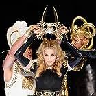 Madonna at an event for Super Bowl XLVI Halftime Show (2012)