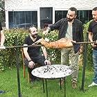 Çetin Altay and Gokhan Yikilkan at an event for Oflu Hoca'nin Sifresi 3 (2018)