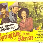 Roy Rogers, Andy Devine, Jane Frazee, and Trigger in Springtime in the Sierras (1947)