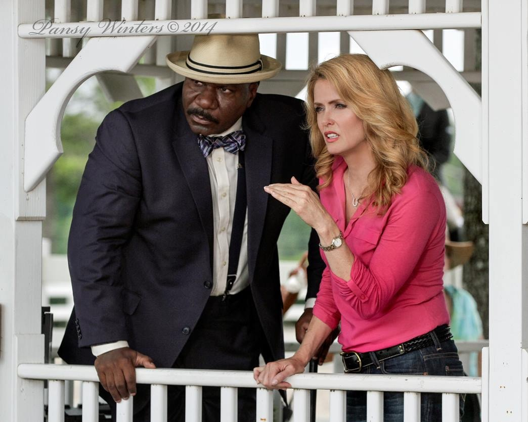 Still of Ving Rhames and Deena Dill in The Sunday Horse