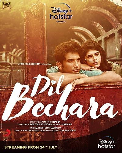 Dil Bechara (2020) Hindi DVDRip – 480P | 720P – x264 – 450MB | 700MB – Download & Watch Online