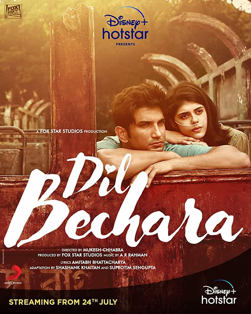 Dil Bechara (2020) Hindi Full Movie Watch Online Download