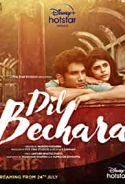 Dil Bechara (2020) HDRip hindi Full Movie Watch Online Free MovieRulz