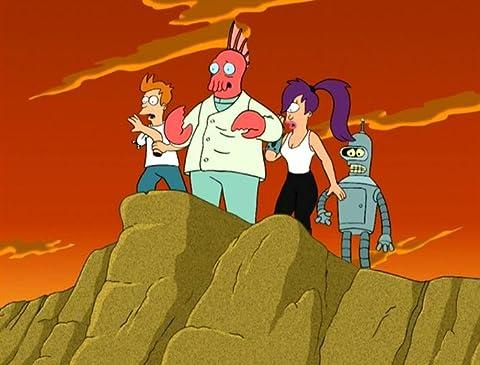 Futurama 2×09 – ¿Por qué debo ser un crustáceo enamorado?