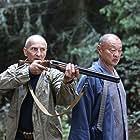 Pyotr Mamonov and Cary-Hiroyuki Tagawa in Ierey-san. Ispoved samuraya (2015)