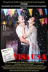 Marcela Agudelo and Armando Gutiérrez in Visa USA (1986)