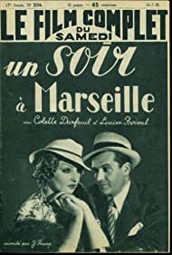 Antonin Berval and Colette Darfeuil in Un soir à Marseille (1938)