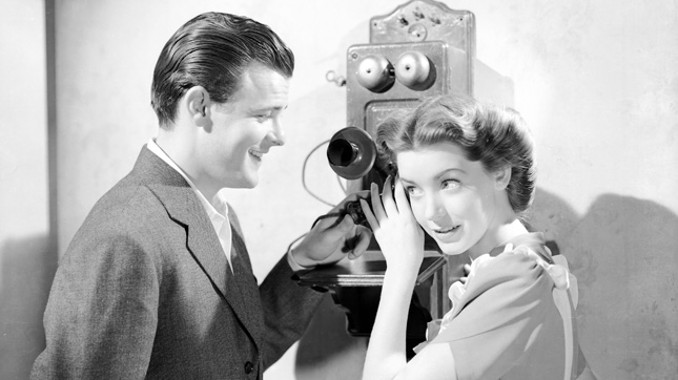 Marsha Hunt and Robert Sterling in I'll Wait for You (1941)