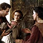 Helena Bonham Carter and Mickey Rourke in Francesco (1989)