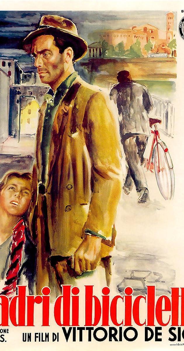 Dviračių vagys / Bicycle Thieves (1948) Online