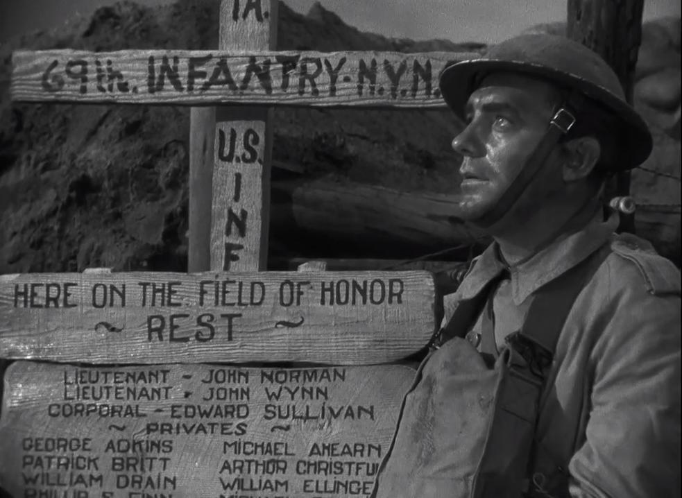 Pat O'Brien in The Fighting 69th (1940)