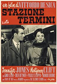 Montgomery Clift and Jennifer Jones in Stazione Termini (1953)