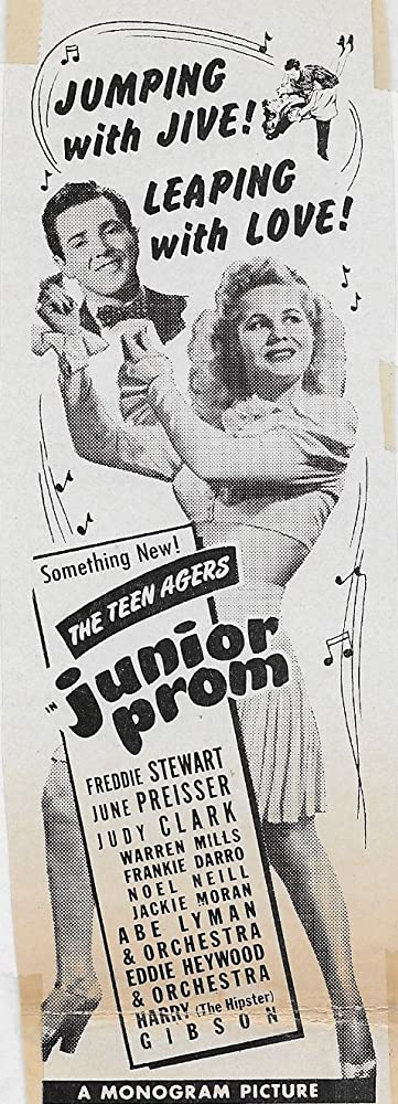 June Preisser and Freddie Stewart in Junior Prom (1946)