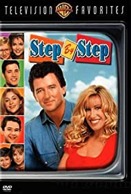 Patrick Duffy, Suzanne Somers, Brandon Call, and Staci Keanan in Step by Step (1991)