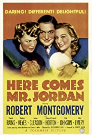 Here Comes Mr. Jordan (1941) Poster - Movie Forum, Cast, Reviews