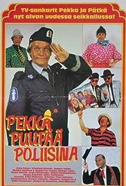 Pekka Puupää poliisina Poster