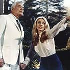 Vittorio De Sica and Sharon Tate in 12 + 1 (1969)