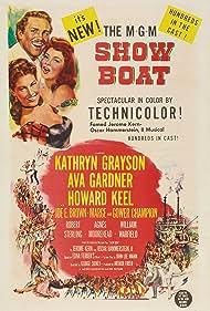 Ava Gardner, Kathryn Grayson, and Howard Keel in Show Boat (1951)