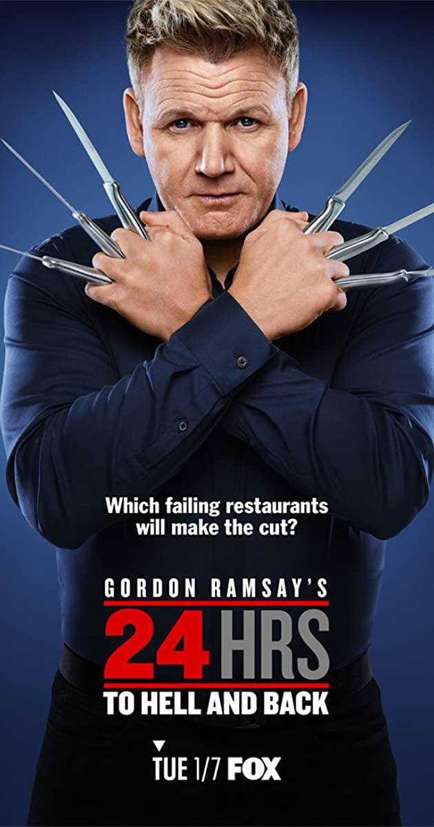 Download Gordon Ramsay's 24 Hours to Hell and Back or watch streaming online complete episodes of  Season2 in HD 720p 1080p using torrent
