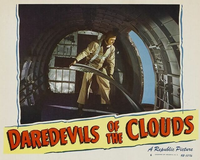 James Cardwell in Daredevils of the Clouds (1948)
