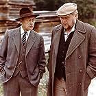 Jens Okking and Poul Reichhardt in Affæren i Mølleby (1976)