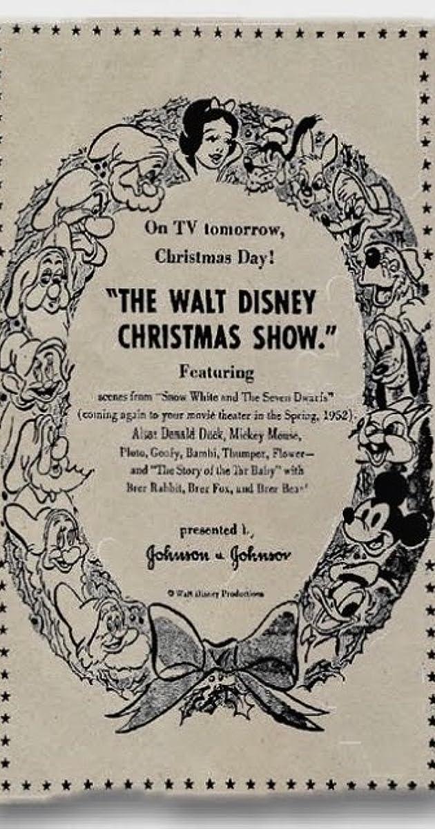 The Walt Disney Christmas Show (1951) - IMDb