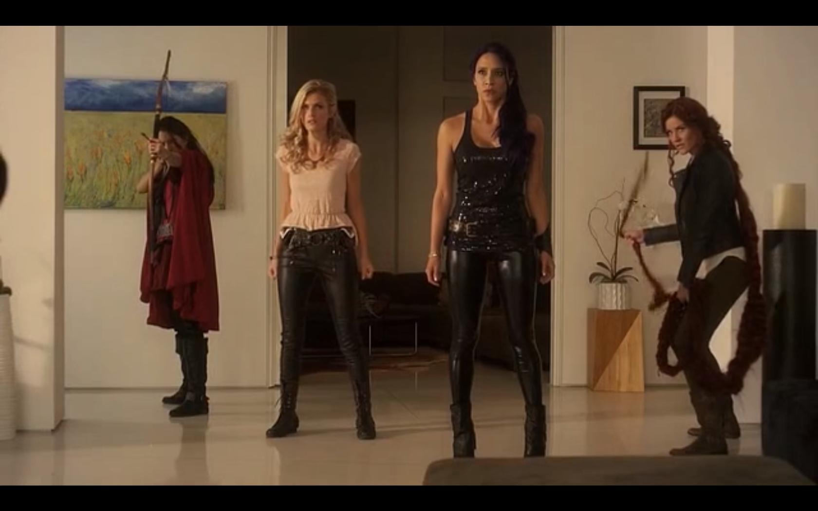 Rileah Vanderbilt, Milynn Sarley, Elizabeth Peterson, and Marah Fairclough in Avengers Grimm (2015)