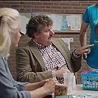 Leny Breederveld, Bianca Krijgsman, Diederik Ebbinge, and Henry van Loon in De luizenmoeder (2018)