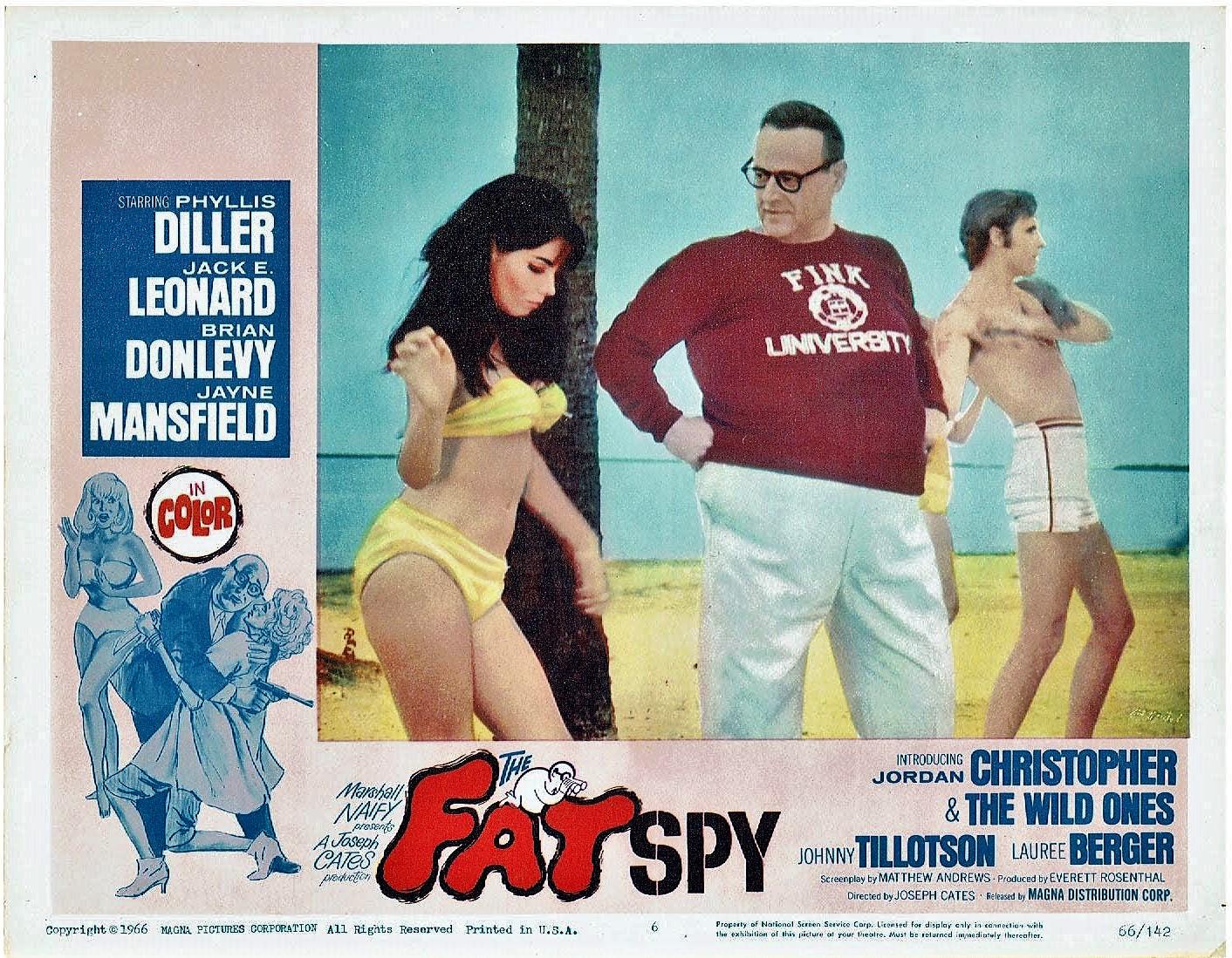 Jack E. Leonard in The Fat Spy (1966)